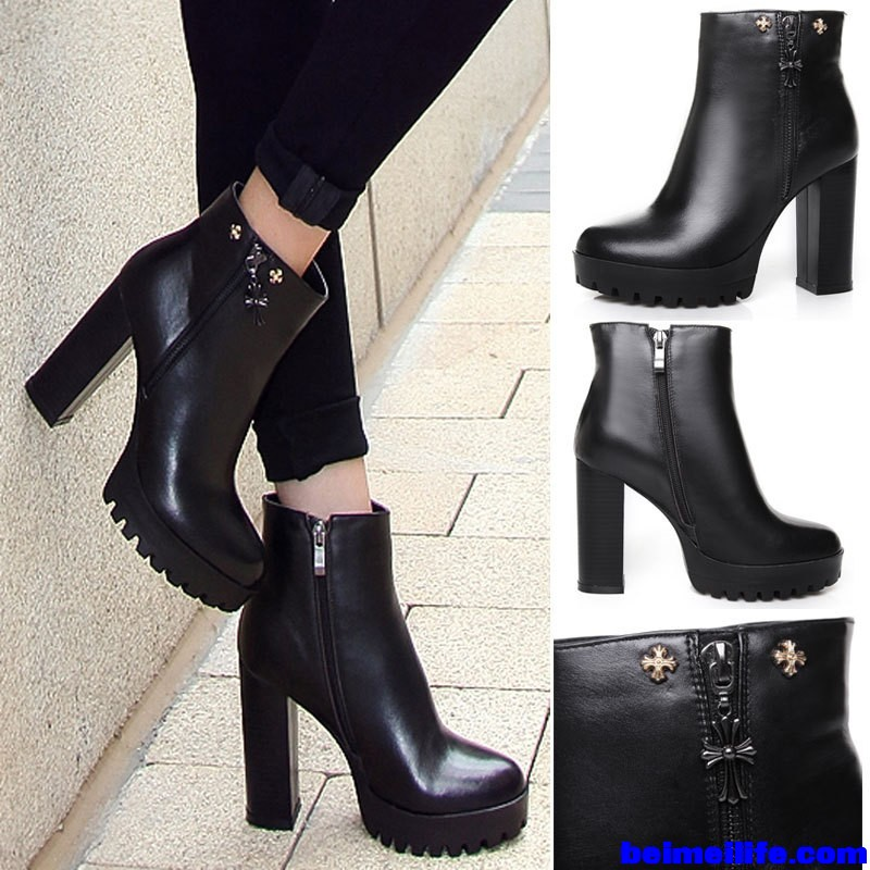 Fashion-Brand-Designer-Women-Boots-2015-With-Cross-Chunky-Heels-Black-Women-Platform-Boots-Genuine-Leather.jpg