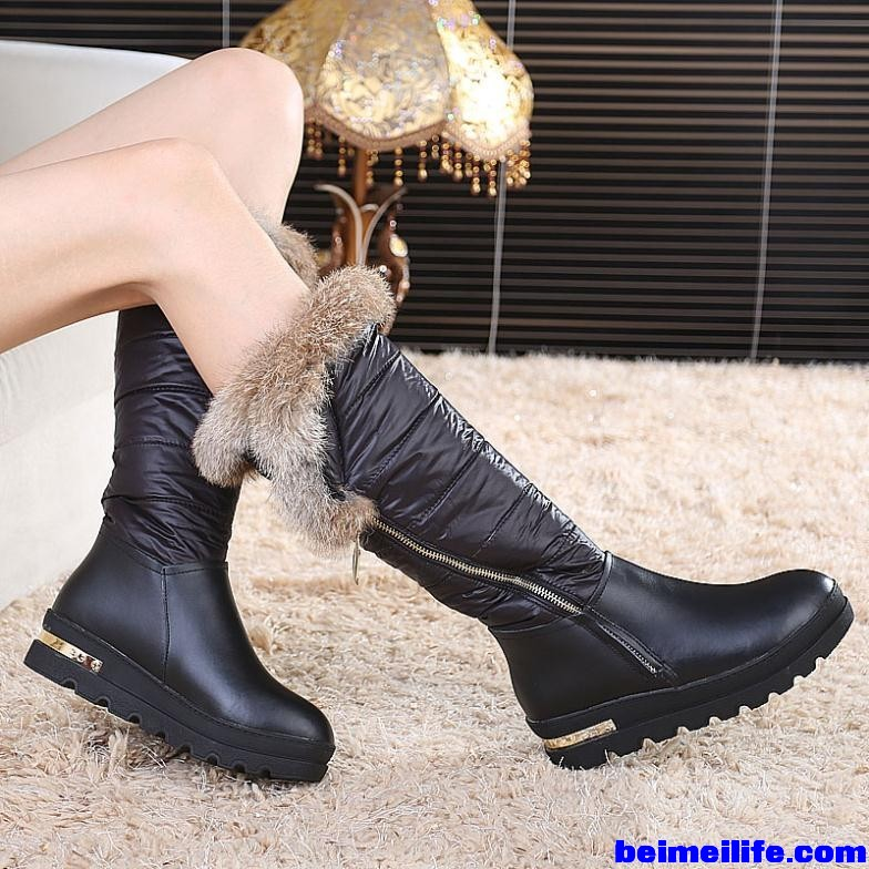 Genuine-Leather-Rubbit-Fur-2015-Winter-New-Knee-High-Snow-Boots-Women-s-Waterproof-Boots-Thick.jpg